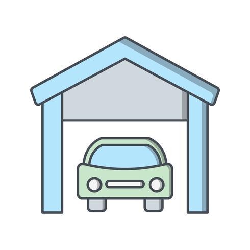 Icono de Vector de garaje