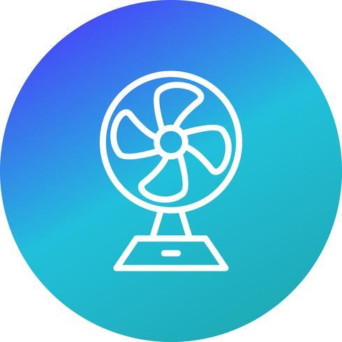 Ícone de vetor de ventilador de carregamento