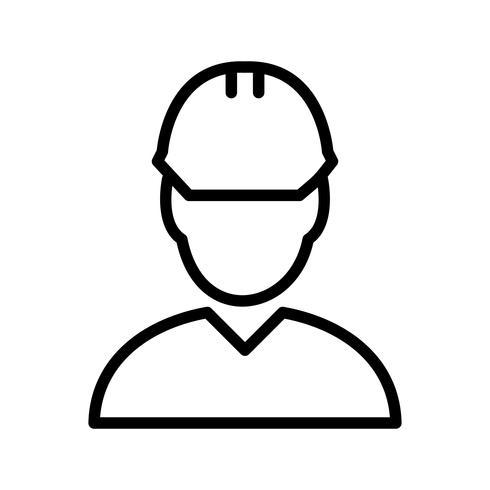 Ingeniero Vector icono