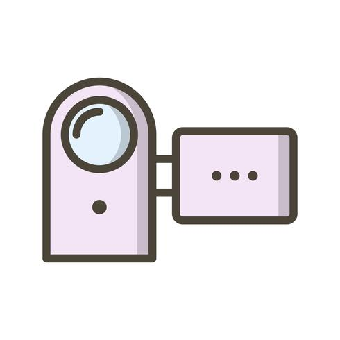Handy Cam Vector Icon