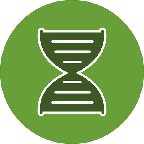 Icône de génétique vectorielle