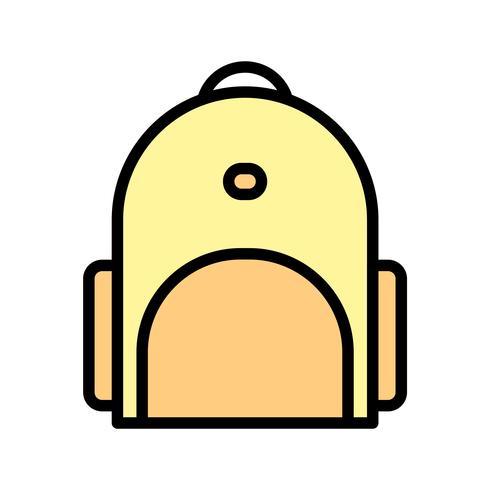 Icona di Bagpack vettoriale