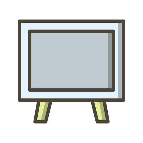 Ícone de quadro-negro de vetor