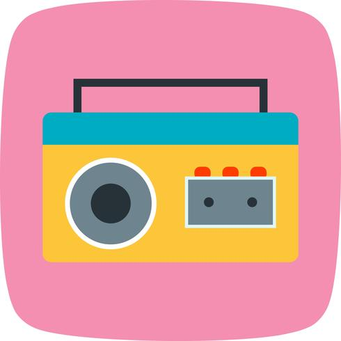 Cassette Player Vector Icon