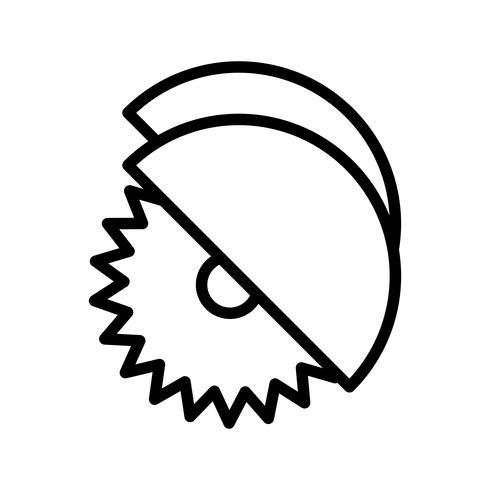 Cirkelzaag Vector Icon