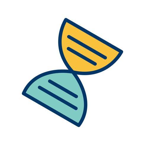 Icono de Vector Genética