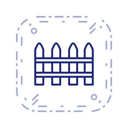 Fence Vector Icon