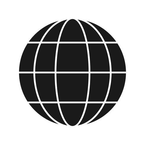 Vector Globe Icon - Download Free Vector Art, Stock Graphics