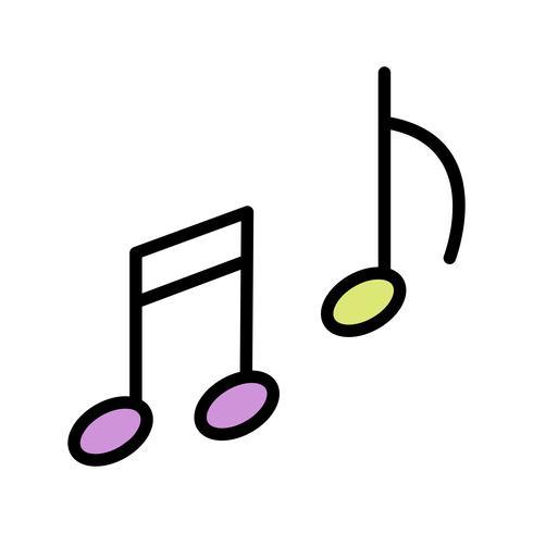 vektor musik ikon