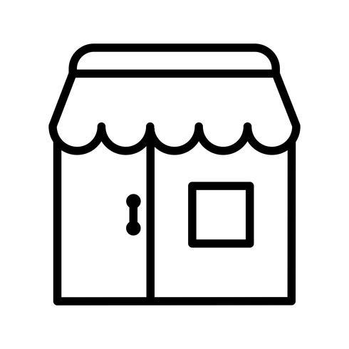 Tienda Vector Icon
