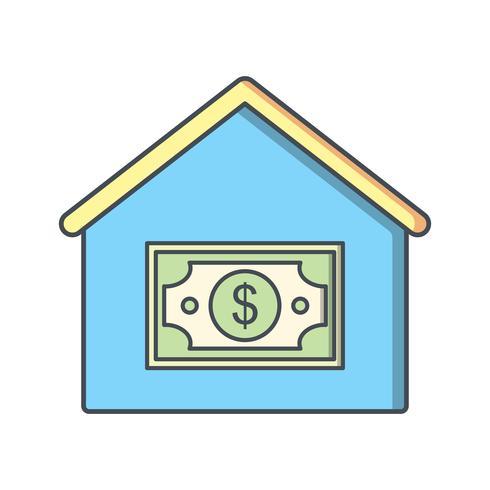 Hauspreis-Vektor-Symbol