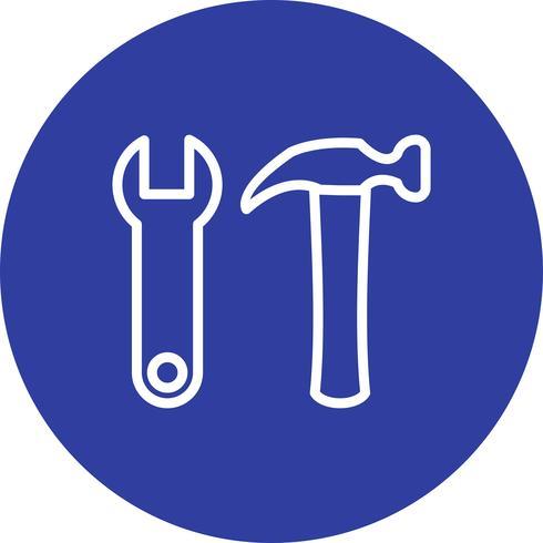 Icono de Vector de herramientas