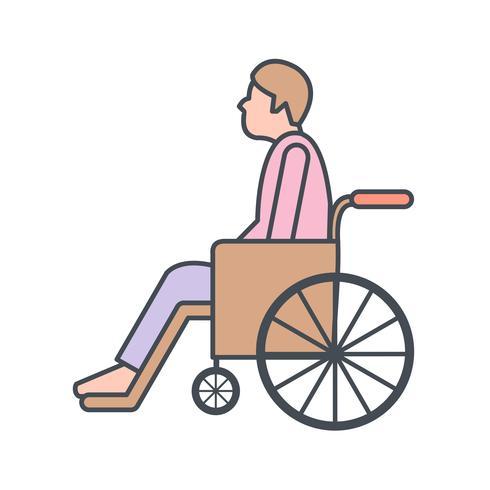 Icona di vettore di pensionamento
