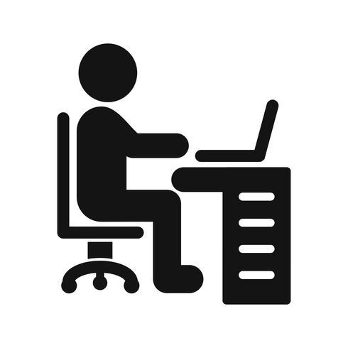 Espacio de trabajo Vector icono