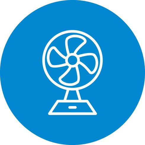Icono de Vector de ventilador de carga