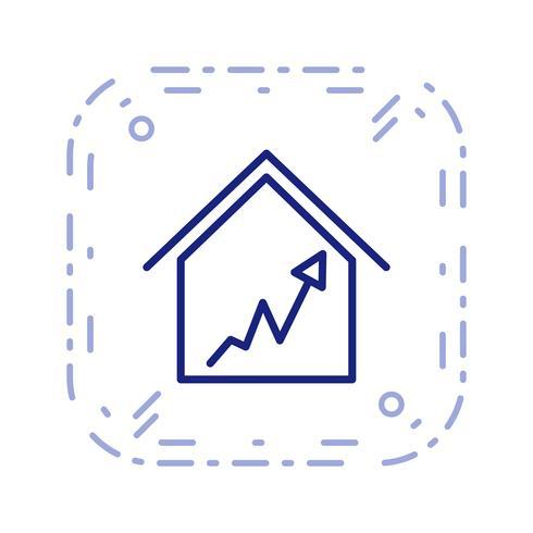 Graphique maison Vector Icon