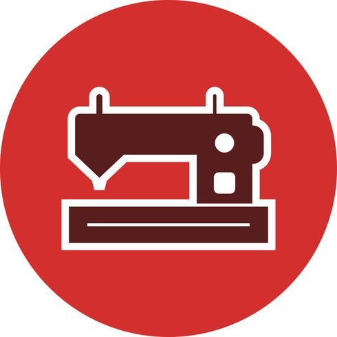 Icona di vettore della macchina per cucire