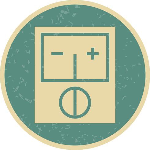 Voltmeter-Vektor-Symbol