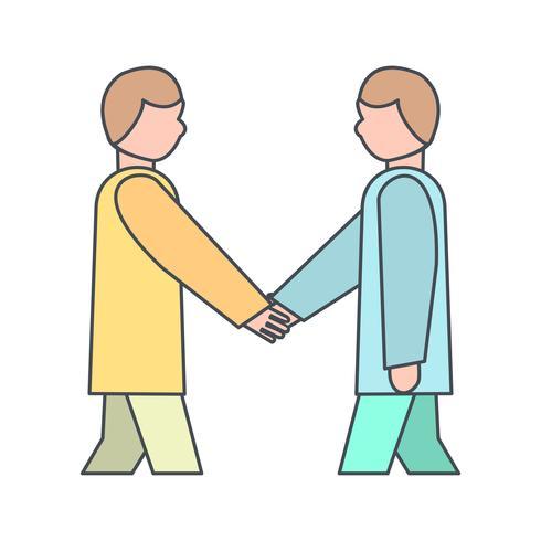 Icona di vettore di partenariato