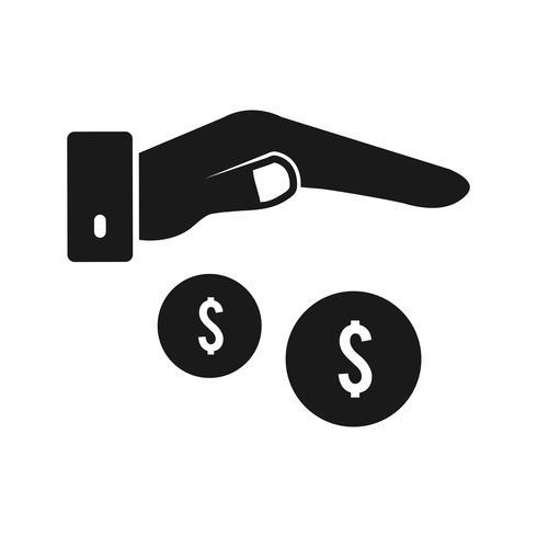 Vector icono de comprador