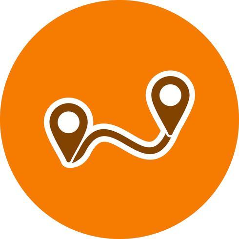 route vector pictogram