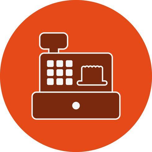 Vector Cash Counter Icon