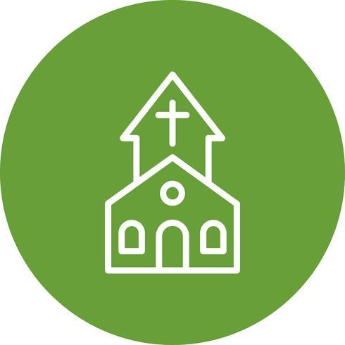 Icona di vettore della Chiesa