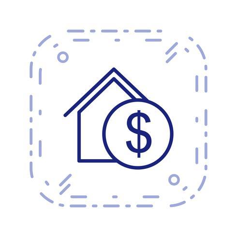 Immobilien-Vektor-Symbol