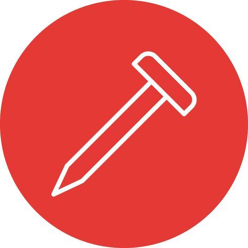 Nagel-Vektor-Symbol