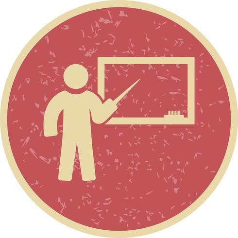 Vector Teaching Icon