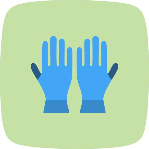 Handschuhe-Vektor-Symbol
