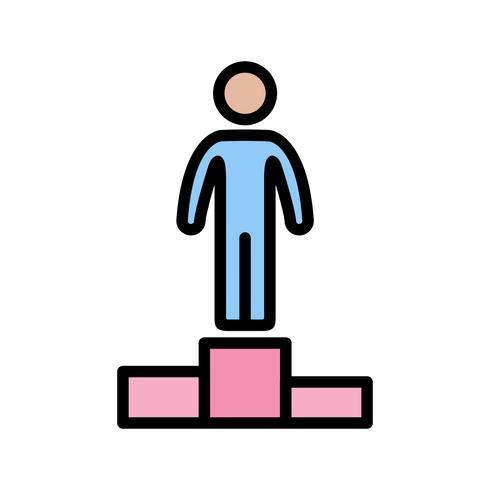 Icono de Vector de éxito