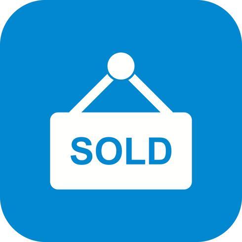 Sold Vector Icon