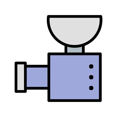 Icona di vettore di tritacarne
