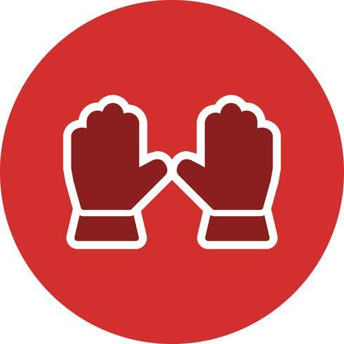 Gloves Vector Icon