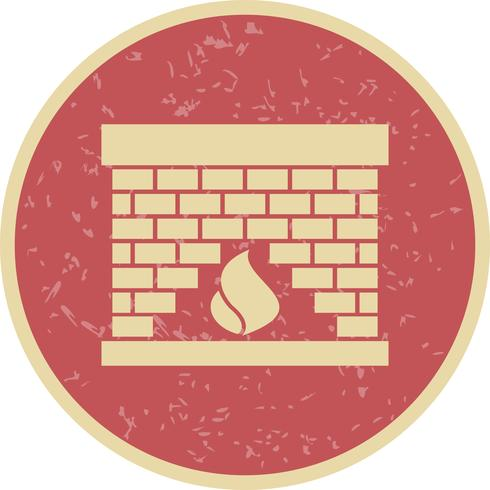 Icono de Vector de lugar de fuego