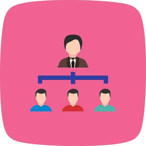Organisations-Vektor-Symbol