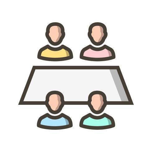 arbetsgruppen vektor ikon