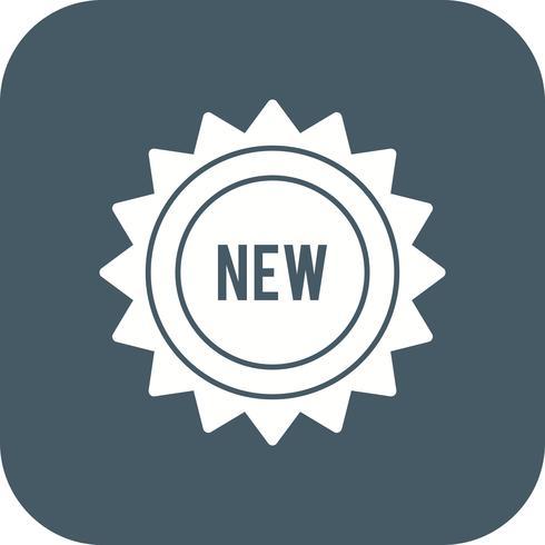 Nouvelle icône de vecteur
