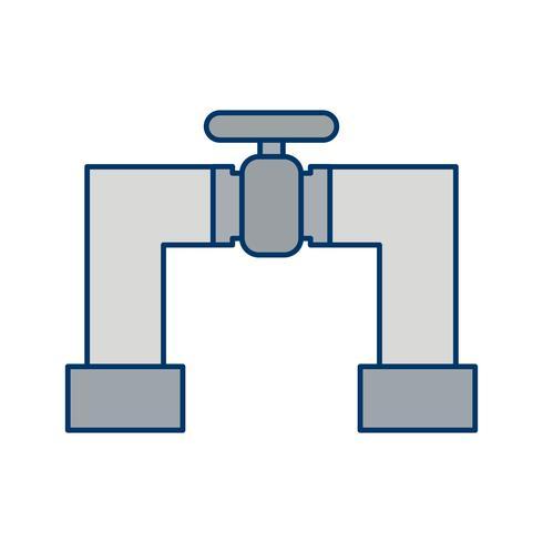 Icona di vettore del tubo