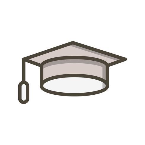 Vector Graduation Cap Icon
