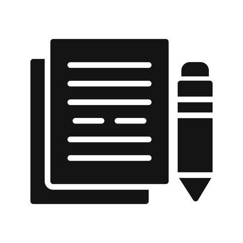 Dokumentation Vector Icon