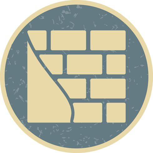 Brick wall Vector Icon