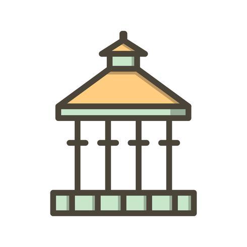 Veranda Vector icono
