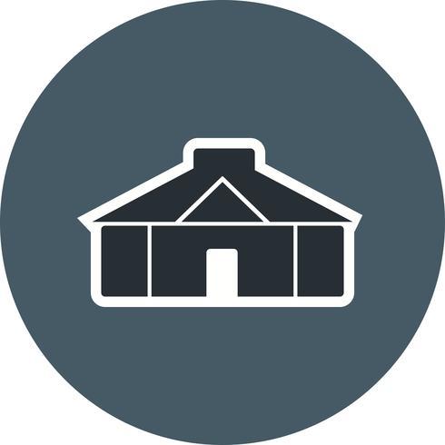 yurt vector pictogram