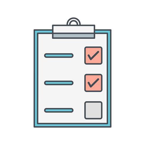 Uppgift Vector Icon