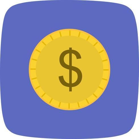 Icono de vector de moneda