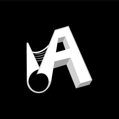 Um logotipo da carta