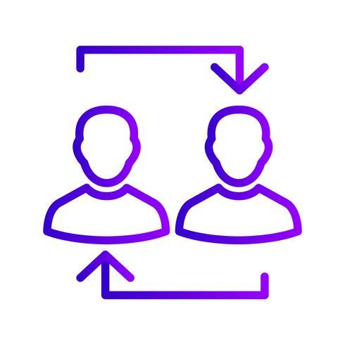 Exchange Vector Icon
