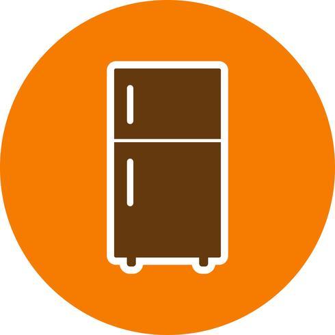 Icona di vettore del frigorifero